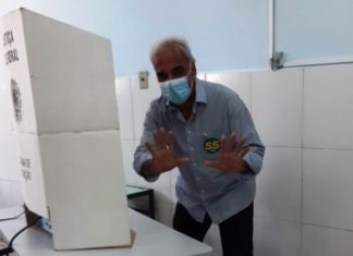 Baltazar vota no Miguel Couto