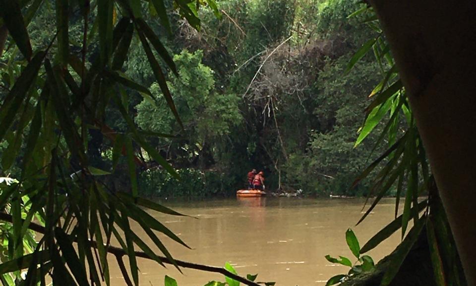 Corpo encontrado no Rio Paraíba do Sul