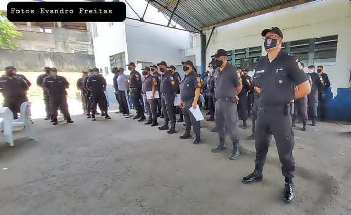 Policiais que se destacaram em ocorrências foram homenageados