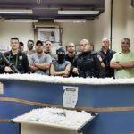 PM apreende mais de 2,4 mil pinos de cocaína, em Paraíba do Sul