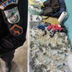 Bandidos escapam e PM apreende droga no Retiro