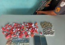 Drogas apreendidas no Santo Agostinho