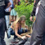 Mulher estanca sangramento de baleado em assalto a joalheria