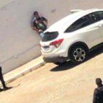 Policial negocia com militares durante sequestro