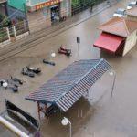 Volta Redonda sofre com forte chuva e tem pontos e alagamentos