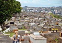 Cemitérios de VR e BM recebem visitantes com medidas contra a Covid-19