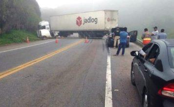 Motorista morre em acidente na BR-393