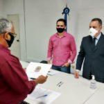 Vereadores eleitos são diplomados em cerimônia sem aglomeração em VR
