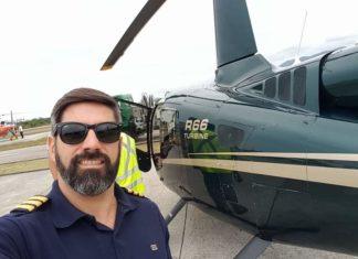 Morador de Volta Redonda morre em acidente com helicóptero em Angra