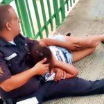 Mulher foi salva quando pretendia se jogar da ponte
