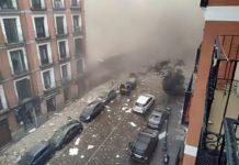 Forte explosão em prédio no centro de Madri mata duas e fere moradores