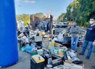 VR terá descarte solidário de lixo eletrônico no domingo (24) na Praça Brasil