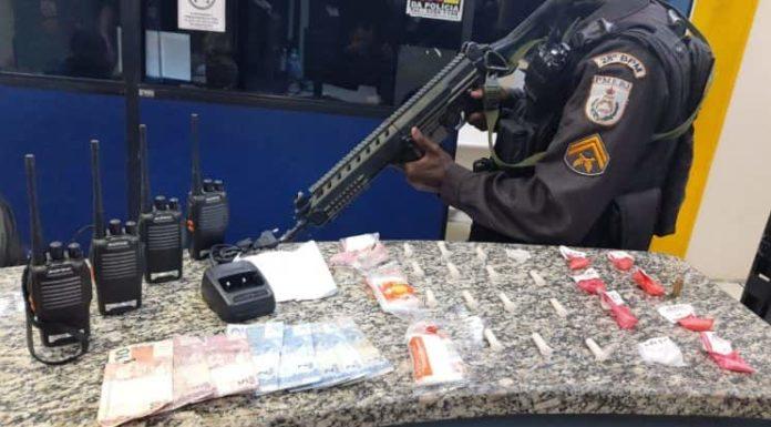 PM apreende drogas em Volta Redonda e Barra Mansa