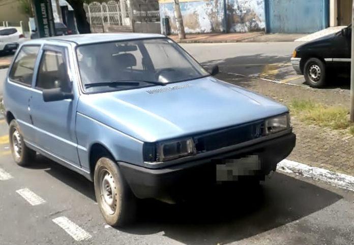 Carro furtado é recuperado pela Guarda Municipal no bairro Retiro