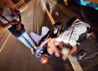 Guarda Municipal impede jovem de pular de viaduto em Volta Redonda