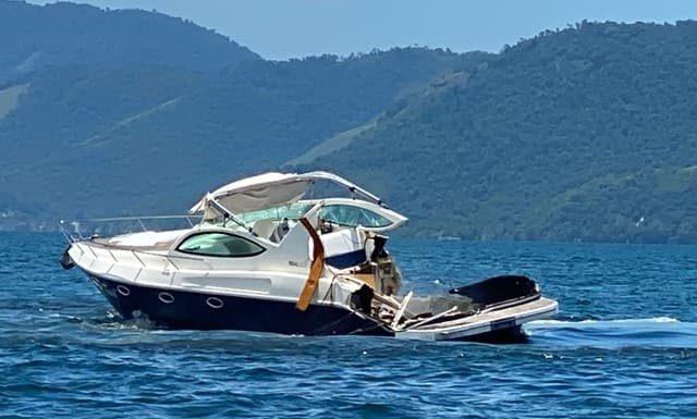 Quatro pessoas morreram em acidente entre lanchas em Angra