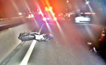 Motociclista morre ao tentar fugir da polícia em Barra Mansa