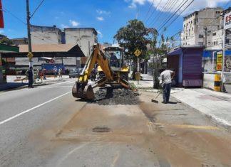 Volta Redonda reforça manutenção e limpeza no primeiro dia útil do ano
