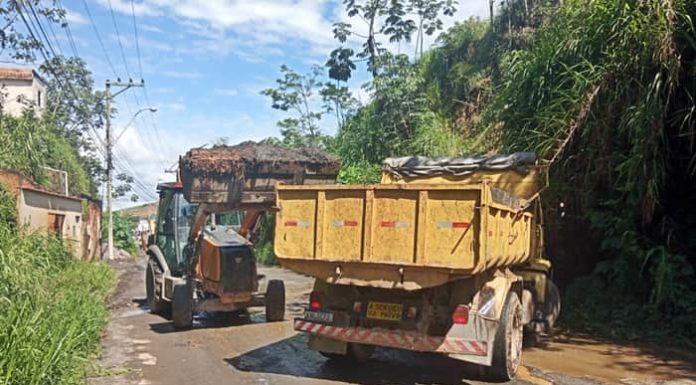 Operação retira mais de 800 toneladas de resíduos em bairros de Volta Redonda