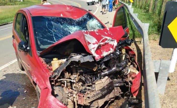 Acidente grave mata motociclista em Três Rios
