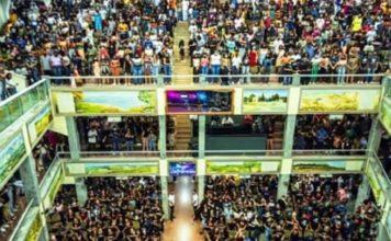 Igreja Assembleia de Deus é autuada pela prefeitura após imagens de superlotação