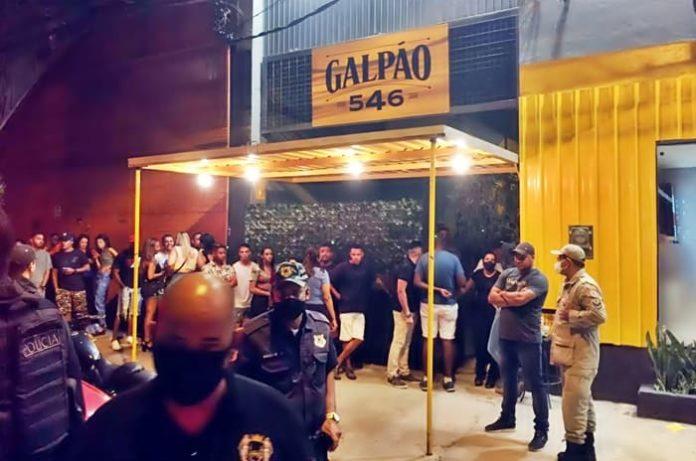 Bar é interditado em Volta Redonda depois por desrespeito ao decreto de carnaval