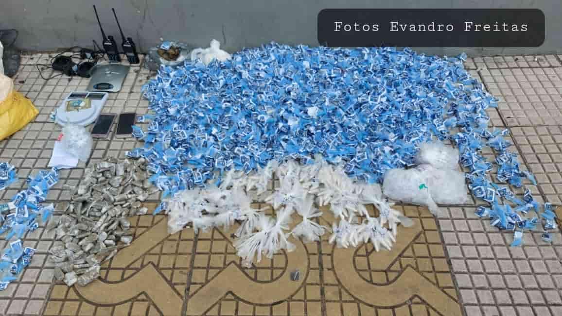 Gerente do tráfico de drogas no Morro da Conquista é preso em Volta Redonda