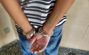Fugido do Dom Bosco, gerente do tráfico é preso escondido no Santa Cruz