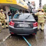 Idoso embriagado é detido após causar acidente em Volta Redonda