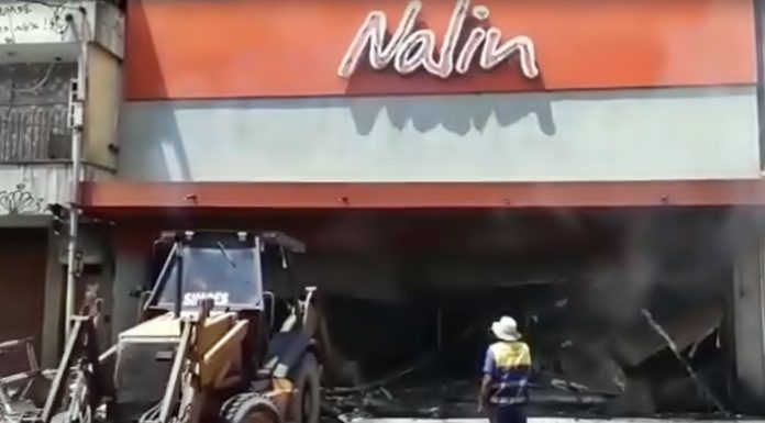 Coincidência? Filial da Nalin pega fogo em São João do Meriti