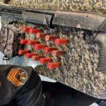 Polícia apreende arma de grosso calibre em Resende