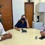Comissão de Educação da CMVR se reúne com secretária de Volta Redonda