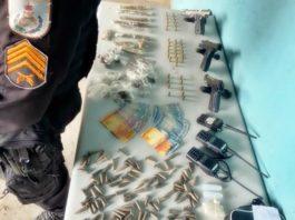Três presos em confronto armado de bandidos com a PM, em Volta Redonda
