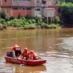 Corpo é encontrado por Bombeiros no Paraíba do Sul, em Volta Redonda