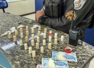 Suspeito de tráfico é preso no Loteamento, em Barra Mansa