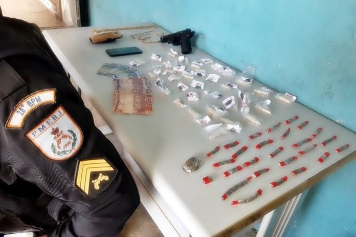 Jovem apontado como gerente do tráfico de drogas é preso no Sul do Rio