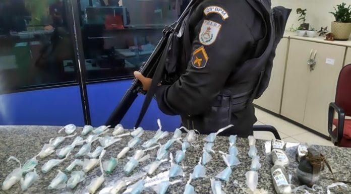 Granada é encontrada em casa durante ação da PM, em Volta Redonda
