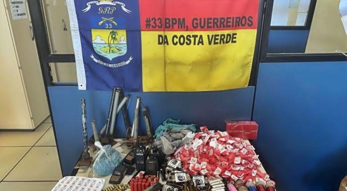Homem morre em troca de tiros com a PM no Morro Santo Antônio, em Angra dos Reis