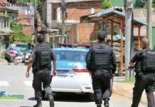 PM faz operação contra o tráfico de drogas no Sul do Rio