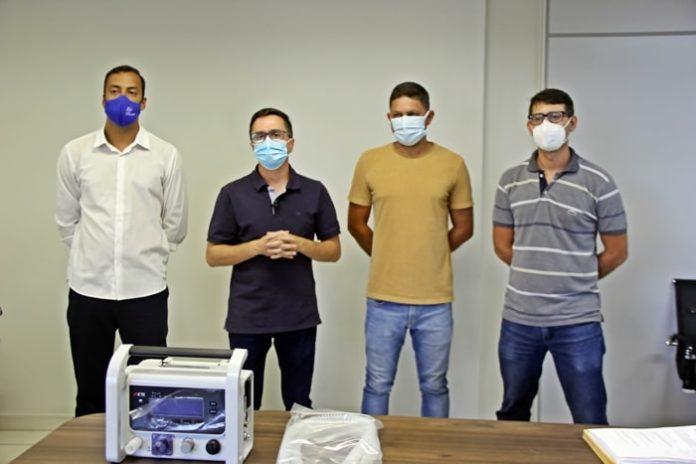 Pinheiral ganha cinco respiradores para tratamento de Covid-19