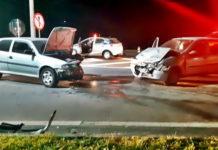 Mulher e criança ficam feridas grave num acidente em Itatiaia