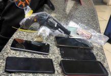 Quatro são presos por roubo de celulares em Volta Redonda
