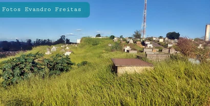 Mato alto, insegurança e sem iluminação fazem do cemitério local de crimes