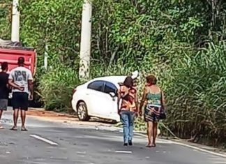 Acidente deixa um morto e dois feridos em Volta Redonda