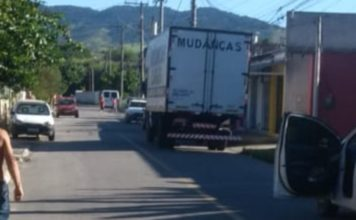 Motorista de caminhão de mudança é morto a tiros em Porto Real