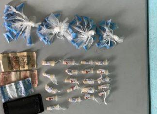 Suposto olheiro do tráfico é preso com drogas em Volta Redonda