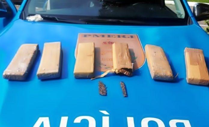 Polícia intercepta droga com destino a Valença e Paty do Alferes