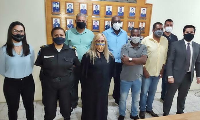 Conselho Municipal de Segurança de VR toma posse no batalhão da PM