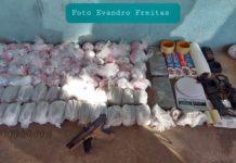 Gerente do tráfico e quatro suspeitos são detidos em Volta Redonda