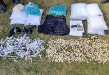 Um preso, um detido e mais de 1,1 mil cápsulas de cocaína apreendidas em Volta Redonda